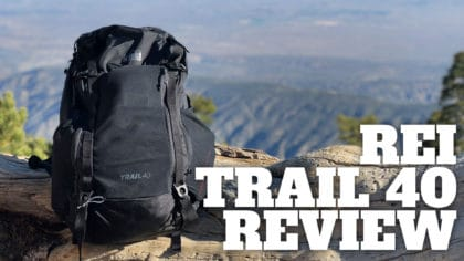 REI Trail 40 Review