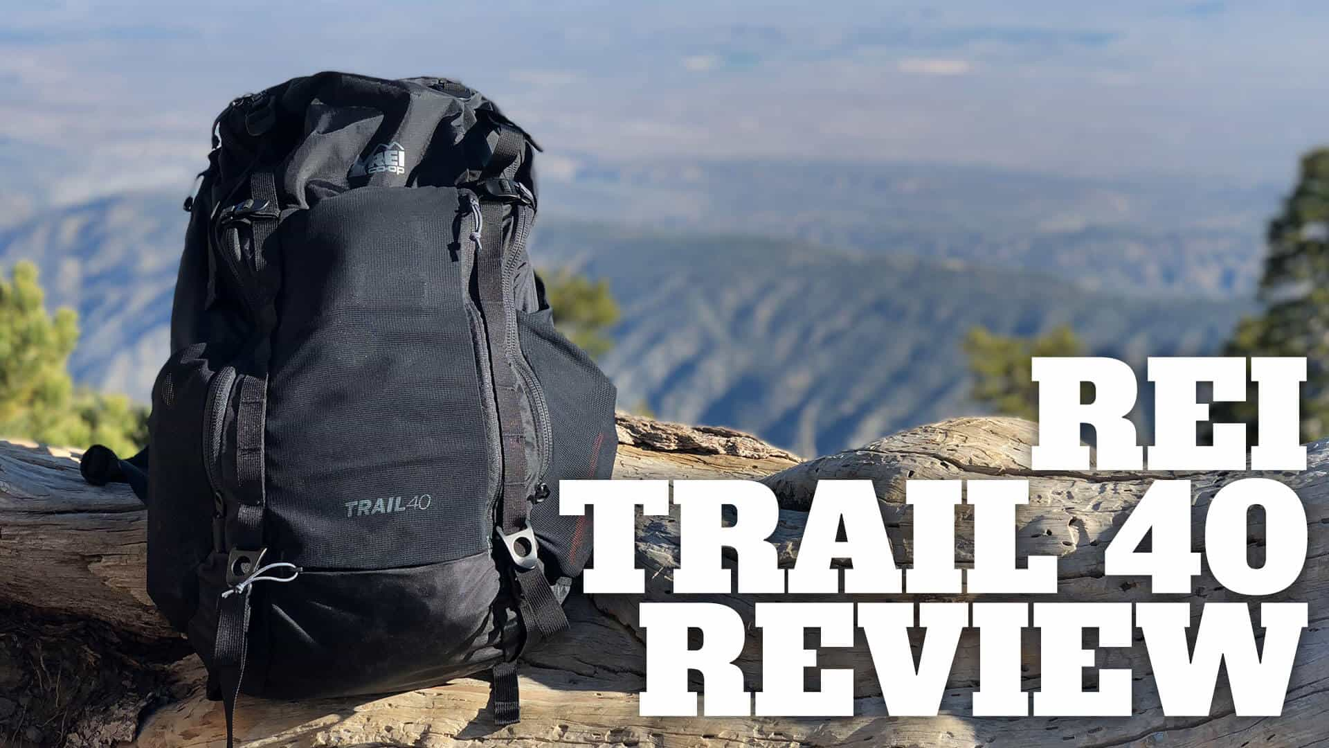 REI Trail 40 Hiking Daypack In-Depth Review - HikingGuy.com 64cc42c26c12b