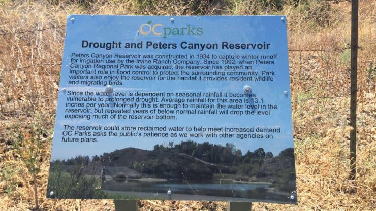 reservoir sign