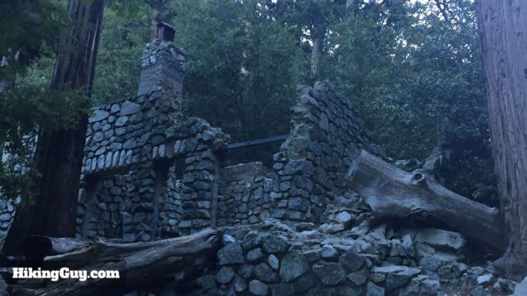 ruins on Cucamonga Peak Hike