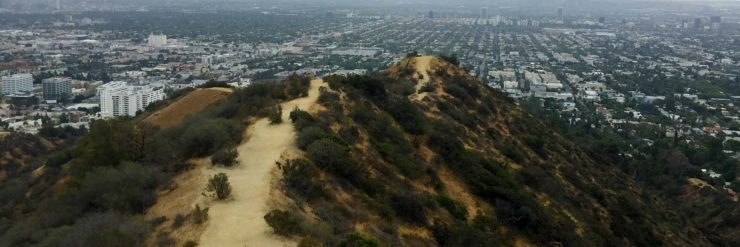 Runyon Canyon Hike trails