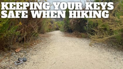 How to Keep Your Keys Safe When Hiking