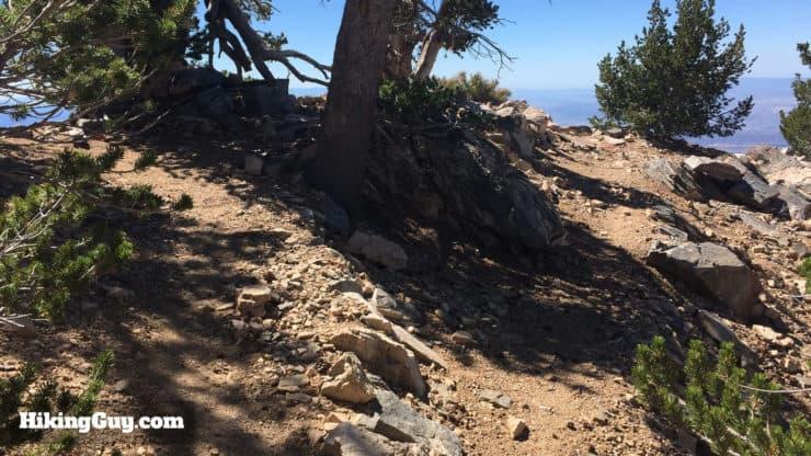 San Bernardino Peak Hike overlook