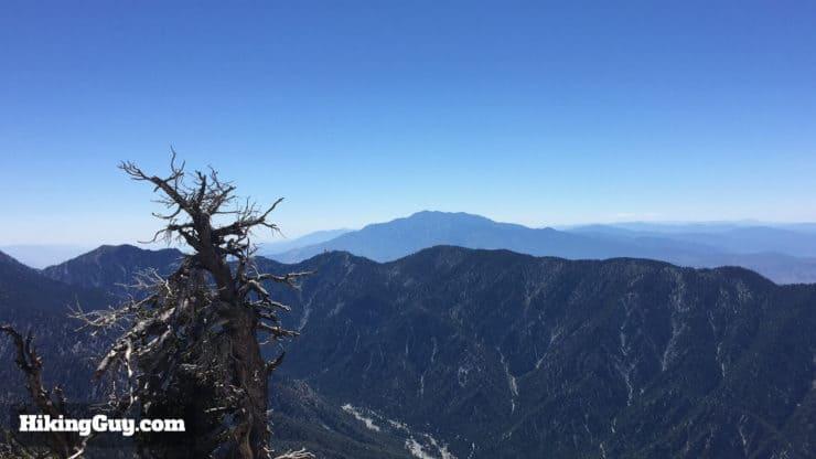 San Bernardino Peak Hike view