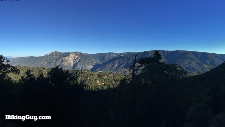 San Bernardino Peak Hike views