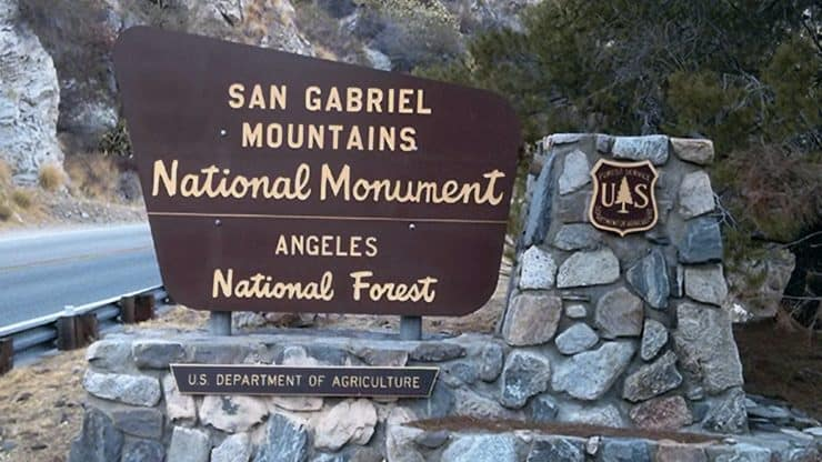 San Gabriel Mountains National Monument Hiking