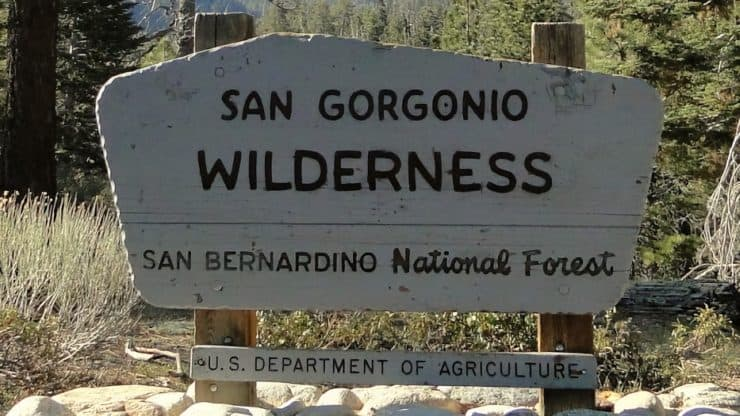 San Gorgonio Wilderness Trail Maps