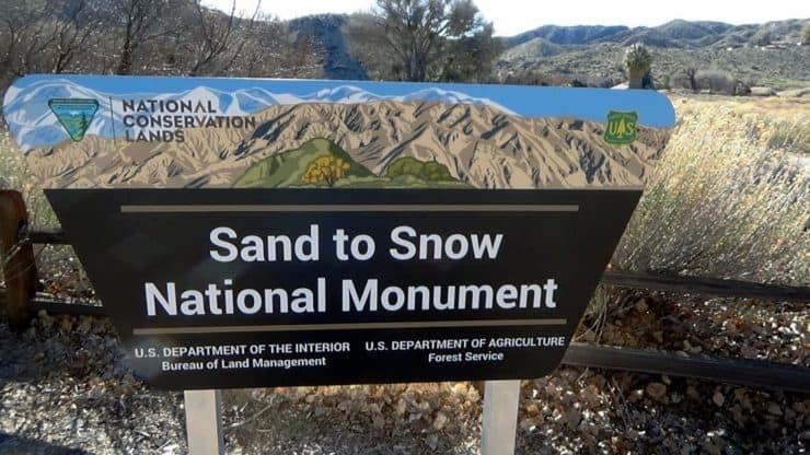 Sand to Snow National Monument Hikes
