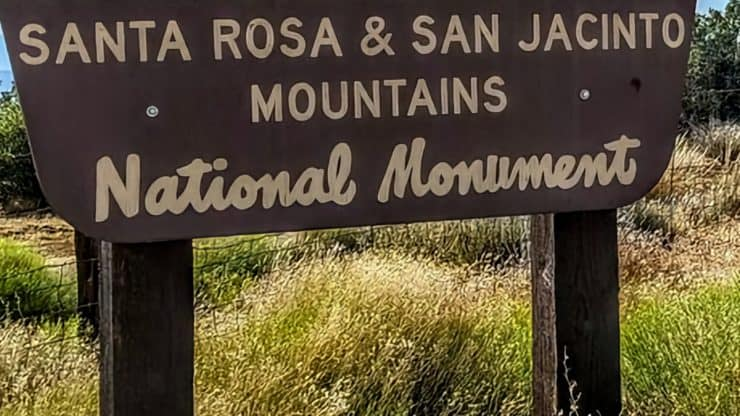 Santa Rosa and San Jacinto Mountains National Monument Hikes