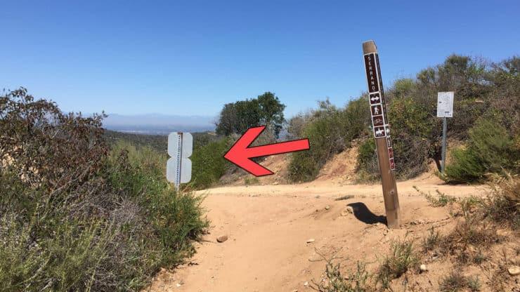 Serrano Ridge trail