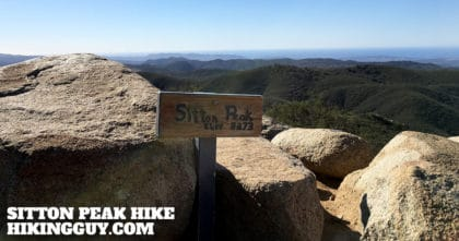 Sitton Peak Hike