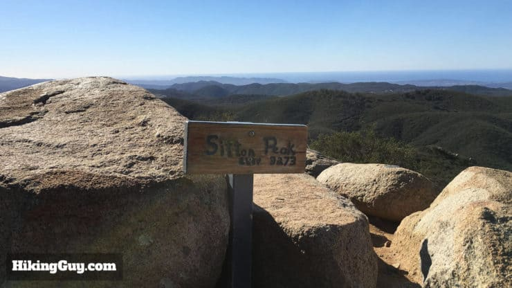 sitton peak sign