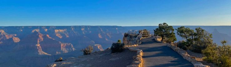 South Rim Trail To Hermits Rest