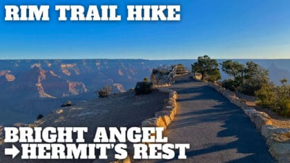 South Rim Trail to Hermit's Rest