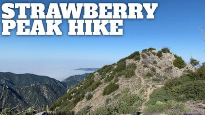 Strawberry Peak Hike