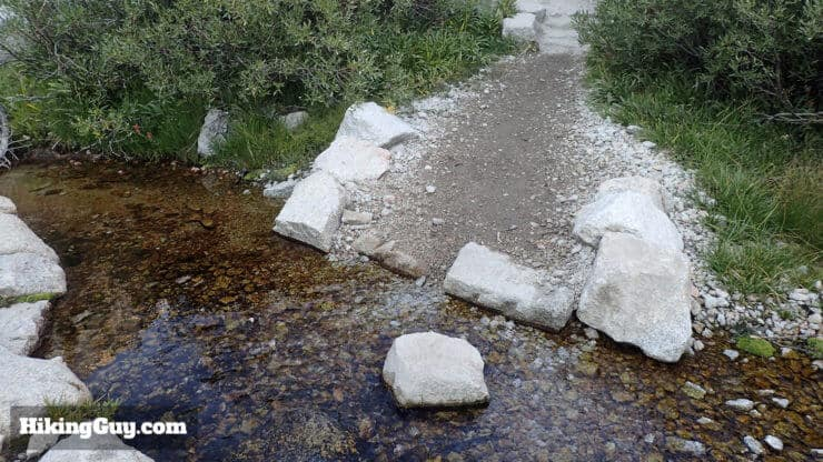 stream crossings on mt whitney trail