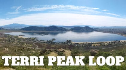 Terri Peak Hike at Lake Perris