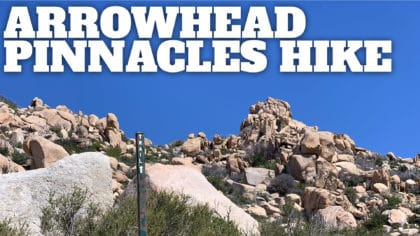 Lake Arrowhead Pinnacles Trail Hike