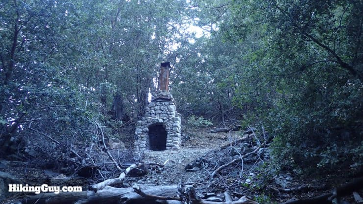 ruins on Icehouse Saddle trail