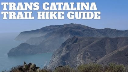 Trans Catalina Trail (TCT) Hike Guide