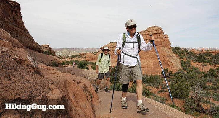 trekking poles save knees