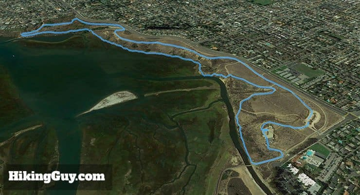 Upper Newport Bay Nature Preserve 3d map