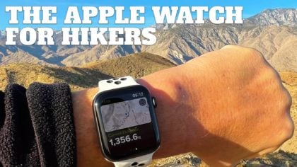 Using the Apple Watch for Hiking