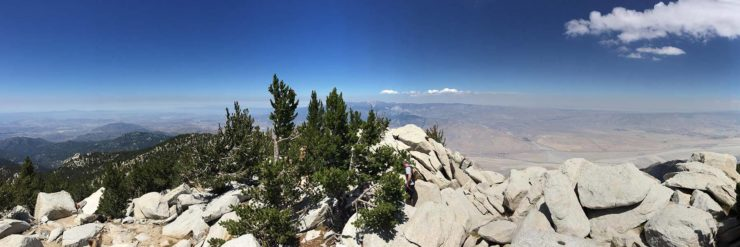 view from Mount San Jacinto Hike