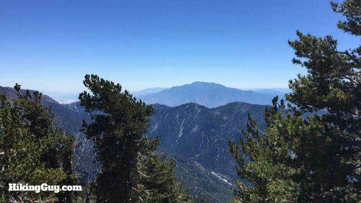 views from San Bernardino Peak