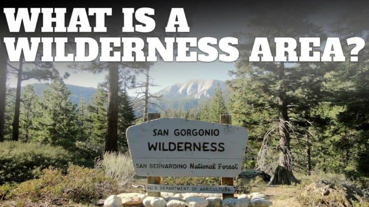 What is a Wilderness Area?